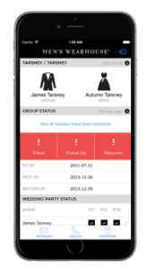 mens warehouse app